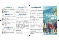 Walking Leaflet Front - South Staffordshire Council