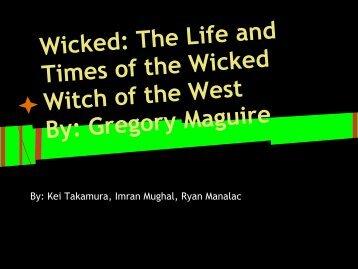 Wicked, Part II