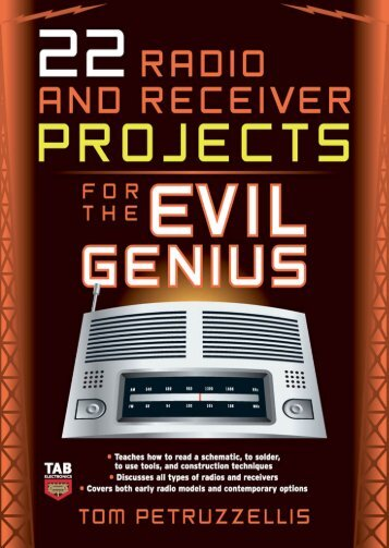 22 Radio Receiver Projects for the Evil Genius - IK4HDQ