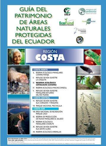 Guía de la RE Cotacachi Cayapas - Ministerio del Ambiente