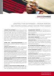 Product CFD E - Swisschange Financial Services