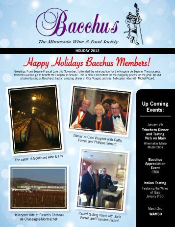 2012 Holiday Newsletter - Haskell's