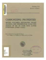 CARBONIZING PROPERTIES: - Alaska Division of Geological ...