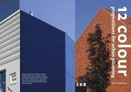 12 colour propositions for urban planning - Kleur Buiten Prijs
