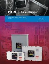 Clipper Power System - Visor™ Series - Eaton Canada