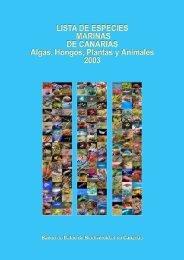 Lista de especies marinas de Canarias. Algas, Hongos