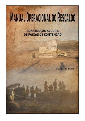 MANUAL OPERACIONAL DO RESCALDO