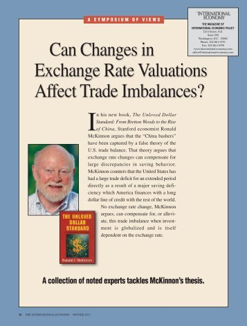 exchange rates and their affect on trade 2 impacts of exhchange rate on terms of trade and volume of trade abstract direct and indirect effects of exchange rates on foreign and home prices may induce.