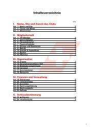 Inhaltsverzeichnis - Swiss Helicopter Club