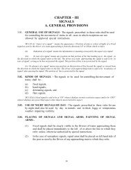 CHAPTER – III SIGNALS A. GENERAL PROVISIONS - Indian Railway
