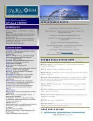 July 2012 e-Bulletin(.pdf) - Pacific Rim Advisory Council (PRAC)