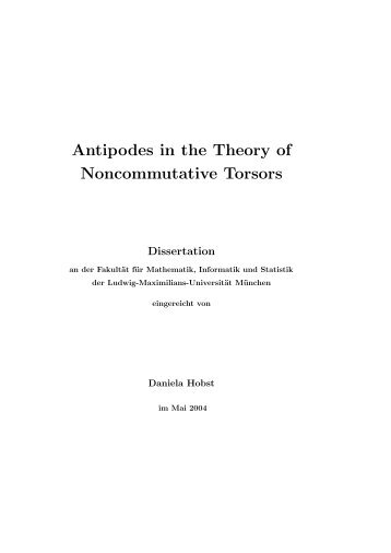 Antipodes in the Theory of Noncommutative Torsors