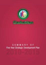 Five-Year Strategic Development Plan - CoAction