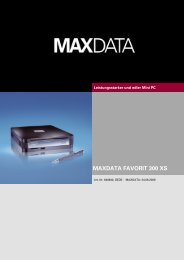 MAXDATA FAVORIT 300 XS