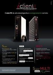 O mini PC de alto desempenho e ecologicamente correto.