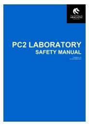 PC2 Laboratory Safety Manual - University of Newcastle