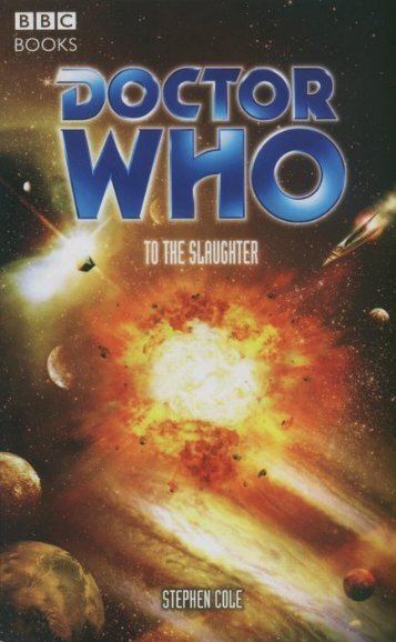 Doctor Who BBC872 - To the Slaughter