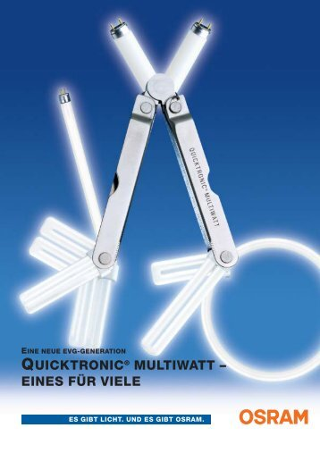 DIE NEUE, VIELSEITIGE EVG - Swiss Lighting AG