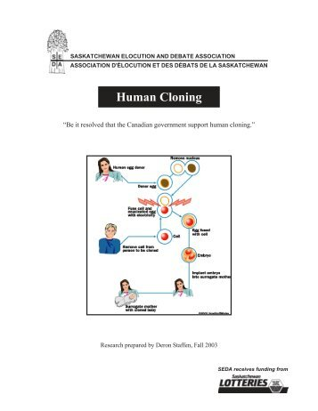 a look at the arguments surrounding the debate on cloning Missing appendix the debate of human cloning human cloning has become a   benefits of cloning imagine having a twin that looks and acts exactly like you   buddhism has arguments for and against cloning, where catholisicm does not .