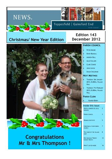 Edition 143 (Read-Only) - Toppesfield Parish Council