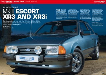 MKIII ESCORT XR3 AND XR3i - Fast Ford