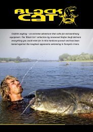 New Black Cat Catfish Gants 9790005