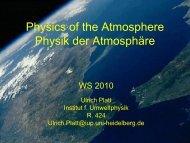 The Stratosphere: Chemistry - 2 - (Ozone Hola) - Institut für ...