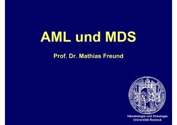 AML und MDS - Hämatologie und Onkologie Rostock