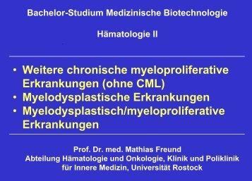 Download Folien - Hämatologie und Onkologie Rostock