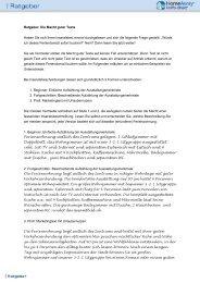 Ratgeber: Die Macht guter Texte Haben Sie sich Ihren ... - FeWo-direkt