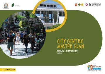 CITY CENTRE MASTER PLAN - Shire of Roebourne - The Western ...