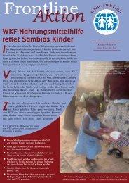 WKF-Programm bietet verlassenen ... - Stiftung Welt Kinder Fonds