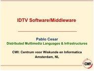 MHP - Centrum voor Wiskunde en Informatica (CWI)