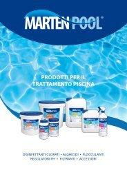 trattamento acque piscina - marten srl