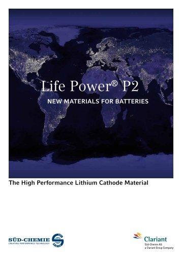 Life Power® P2 - Phostech Lithium inc.