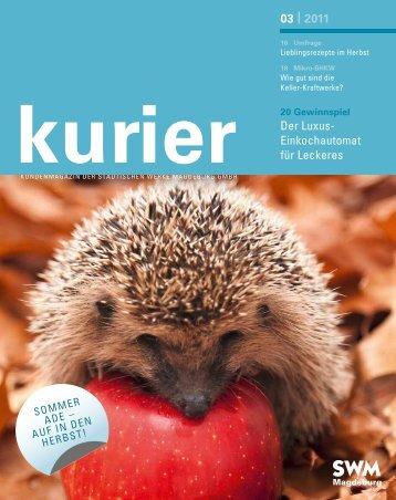 SWM Kurier 03-2011 - Städtische Werke Magdeburg