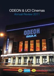 ODEON & UCI Cinemas Group Annual Review 2011