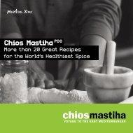 chios mastiha recipes - Mastihashop