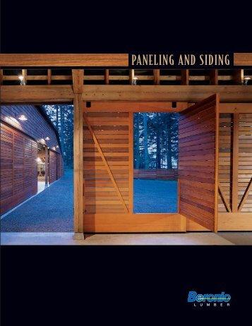 Paneling and Siding Catalog - Beronio Lumber