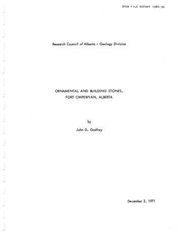 0.64 MB - Alberta Geological Survey