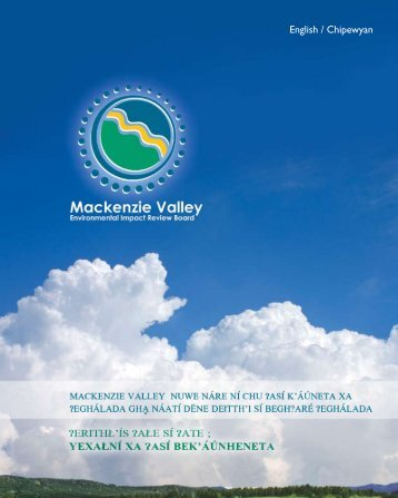English / Chipewyan - Mackenzie Valley Review Board