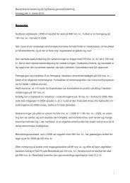 Bestyrelsens beretning på Sydbanks generalforsamling torsdag den 4.