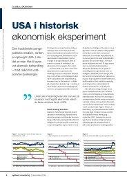 USA i historisk økonomisk eksperiment - Sydbank