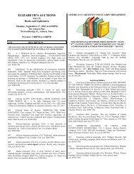 Download Catalogue - Elizabeth's Auctions