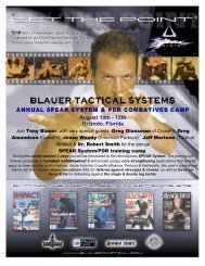Combat Training Camp - Blauer Tactical Systems