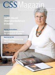 Judith Büchli: Oberschenkelbruch in Indien - CSS Versicherung