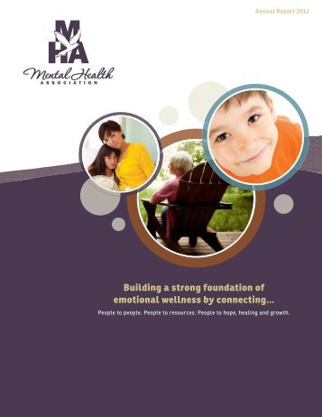 2012 Annual Report - Frederick County Mental Health Association