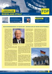 LibRLP Ausgabe 01/2010 - FDP Ober-Olm