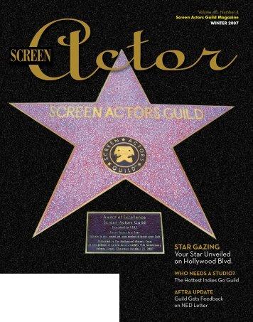 STAR GAZING Your Star Unveiled on Hollywood Blvd. - sag-aftra