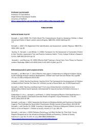 Full list of publications - University of Sheffield